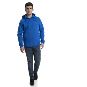 Thumbnail 5 of FIGC Men's Zip-Thru Hoodie, Team Power Blue, medium