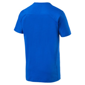 Thumbnail 4 of FIGC Men's Tee, Team Power Blue, medium