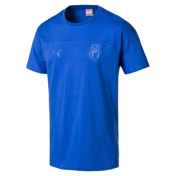 FIGC Men's Tee, Team Power Blue, large