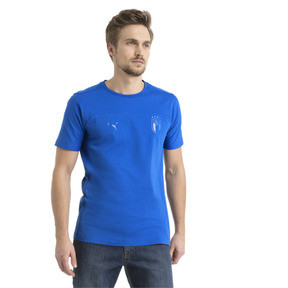 Thumbnail 2 of FIGC Azzurri Tee, Team Power Blue, medium