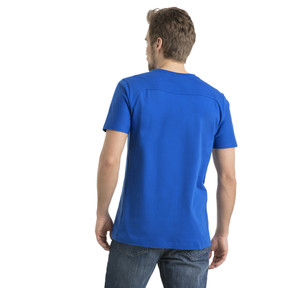 Thumbnail 3 of FIGC Men's Tee, Team Power Blue, medium
