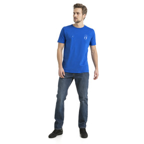 Thumbnail 5 of FIGC Azzurri Tee, Team Power Blue, medium