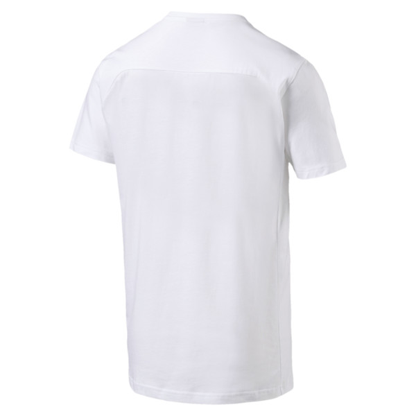 FIGC Men's Tee, Puma White, large