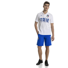 Thumbnail 5 of FIGC Men's Italia Fanwear Bermudas, Team Power Blue, medium