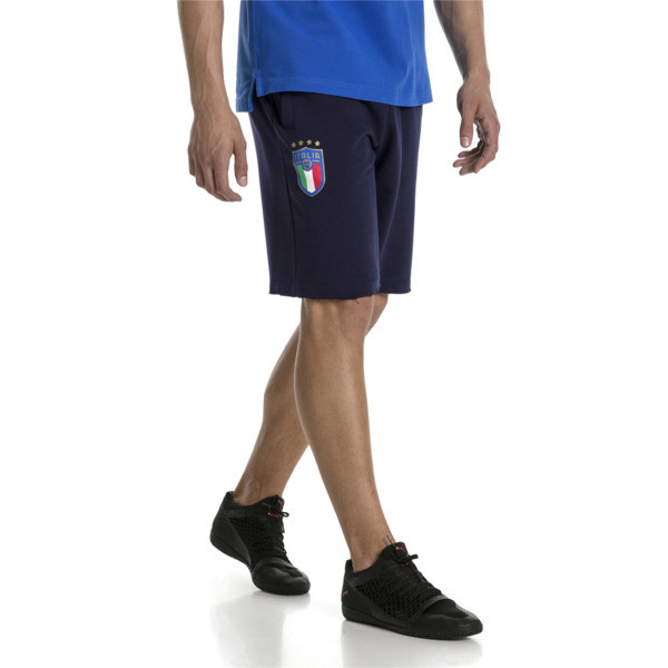 Short FIGC Italia Bermuda pour homme, Peacoat, large