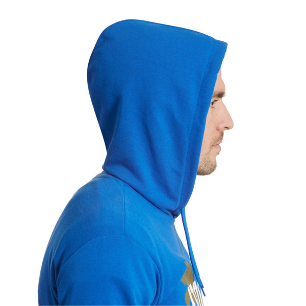 FIGC Italia Fanwear Hoodie, Team Power Blue, large
