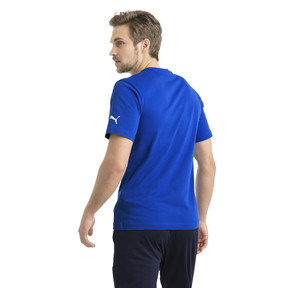 Thumbnail 3 of Italia Badge Tee, Team Power Blue, medium