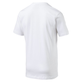 Thumbnail 4 of Italia Badge Tee, Puma White, medium