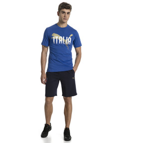 Thumbnail 5 of FIGC Men's Italia Fanwear Graphic Tee, Team Power Blue, medium