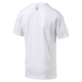 Thumbnail 4 of FIGC Men's Italia Fanwear Graphic Tee, Puma White, medium