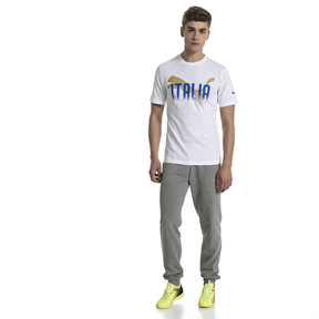 Thumbnail 5 of FIGC Men's Italia Fanwear Graphic Tee, Puma White, medium