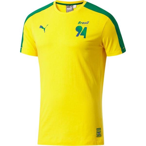 8d93d989a93 Forever Soccer T7 T-Shirt, Dandelion-(Brazil), large