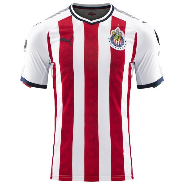 0484b111516 2017 18 Chivas Home Authentic Jersey