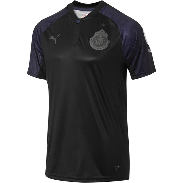 2017/18 Chivas Away Shirt Replica, Puma Black-Peacoat, large