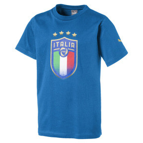 Italia Badge Tee Jr