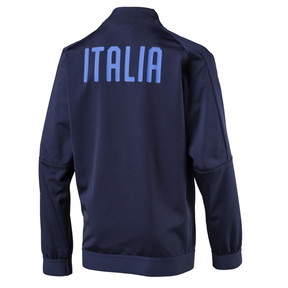 Thumbnail 2 of Italia Kids' Stadium Jacket, Peacoat-Team power blue, medium