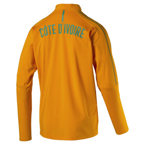 Thumbnail 4 of Ivory Coast 1/4 Zip Training Top, Flame Orange, medium