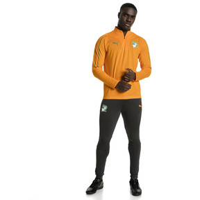 Thumbnail 5 of Ivory Coast 1/4 Zip Training Top, Flame Orange, medium