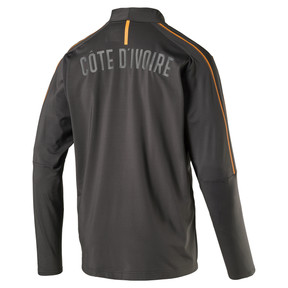 Thumbnail 4 of Ivory Coast 1/4 Zip Training Top, Asphalt, medium