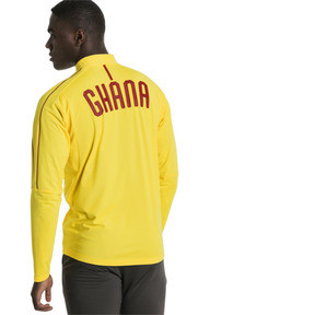 Thumbnail 3 of Ghana 1/4 Zip Training Top, Dandelion, medium