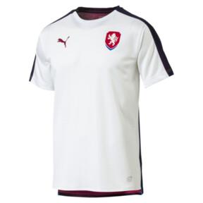 Camiseta deportiva de estadio de hombre de la República Checa