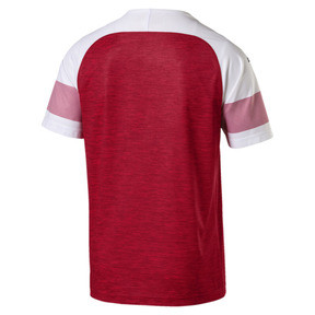 Thumbnail 5 of Arsenal FC Men's Home Replica Jersey, -Chili Pepper Heather-White, medium