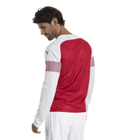 Thumbnail 2 of Maillot Domicile AFC Replica à manches longues pour homme, Chili-White-Chili Pepper, medium