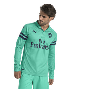 Thumbnail 1 of AFC Men's Long Sleeve Third Replica Jersey, Biscay Green-Peacoat, medium