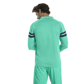 Thumbnail 2 of AFC Men's Long Sleeve Third Replica Jersey, Biscay Green-Peacoat, medium