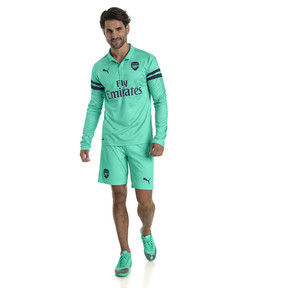 Thumbnail 3 of AFC Men's Replica Shorts, Biscay Green-Peacoat, medium