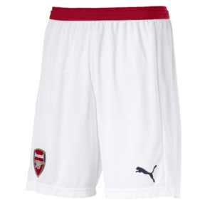 Thumbnail 4 of AFC Men's Replica Shorts, Puma White-Chili Pepper, medium