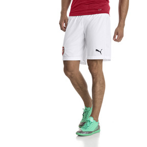 Thumbnail 1 of Short AFC Replica pour homme, Puma White-Chili Pepper, medium