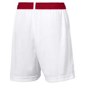 Thumbnail 2 of Short AFC Replica pour enfant, Puma White-Chili Pepper, medium