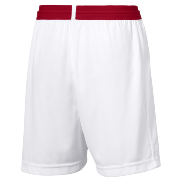 AFC Kids' Replica Shorts, Puma White-Chili Pepper, large