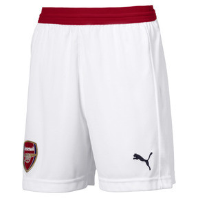 Thumbnail 1 of AFC Kids' Replica Shorts, Puma White-Chili Pepper, medium
