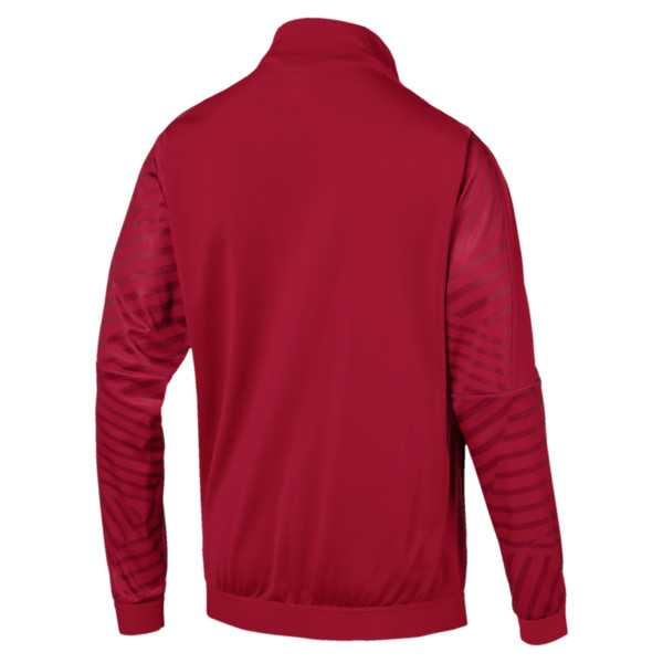 AFC Men's Stadium Jacket, Chili Pepper, large