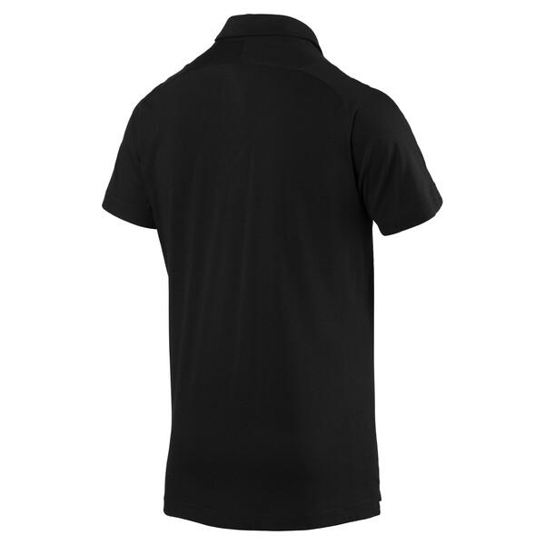 AFC Men's Casual Performance Polo, Puma Black, large