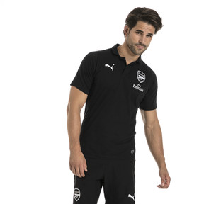 Thumbnail 2 of AFC Men's Casual Performance Polo, Puma Black, medium