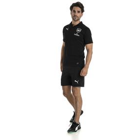 Thumbnail 5 of AFC Men's Casual Performance Polo, Puma Black, medium