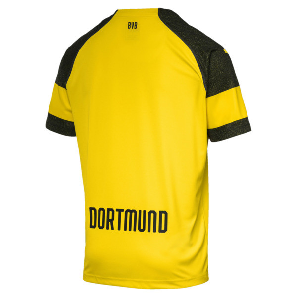 BVB Herren Replica Heimtrikot, Cyber Yellow, large
