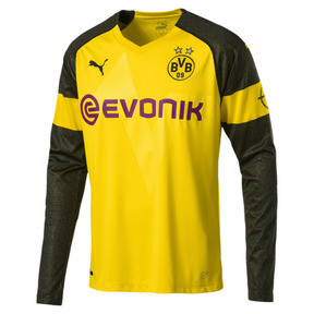 Thumbnail 1 of BVB LS ホーム レプリカシャツ, Cyber Yellow, medium-JPN