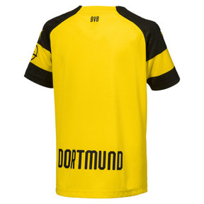 Thumbnail 2 of BVB Kids' Home Replica Jersey, Cyber Yellow, medium