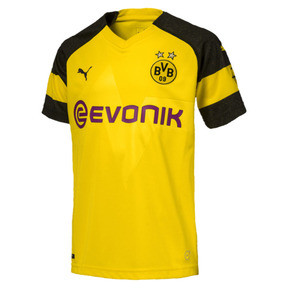 Thumbnail 1 of BVB Kids' Home Replica Jersey, Cyber Yellow, medium