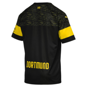 Thumbnail 2 of BVB Men's Replica Away Shirt, Puma Black, medium