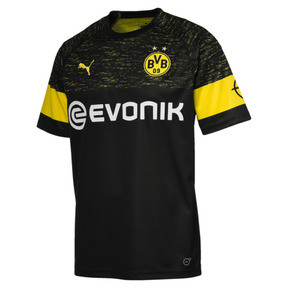 Thumbnail 1 of BVB Men's Replica Away Shirt, Puma Black, medium