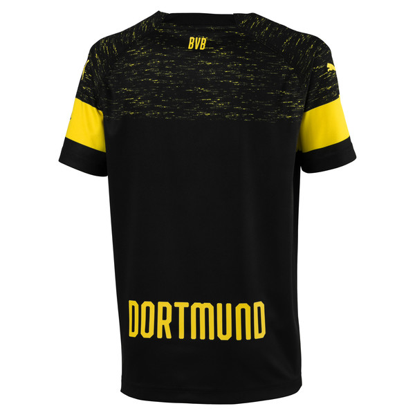BVB Kids' Away Replica Jersey, Puma Black, large