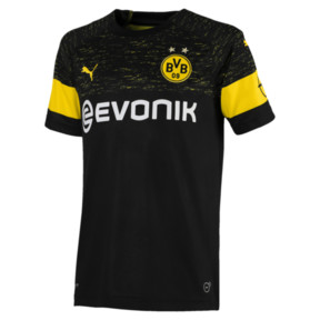 Thumbnail 1 of BVB Kids' Away Replica Jersey, Puma Black, medium