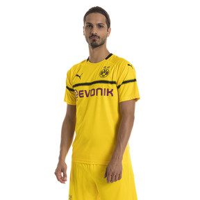 Thumbnail 1 of BVB Men's Cup Replica Jersey, Cyber Yellow, medium