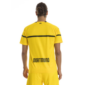 Thumbnail 2 of BVB Men's Cup Replica Jersey, Cyber Yellow, medium