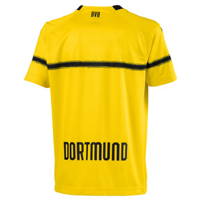 Thumbnail 2 of BVB Kids' Cup Replica Jersey, Cyber Yellow, medium